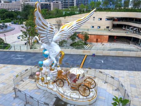 如何保養維護玻璃鋼景觀雕塑?