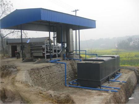 豬場青島污水處理采用的處理工藝