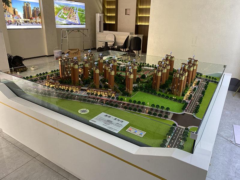 青海住宅沙盤模型-西寧房地產模型沙盤制作