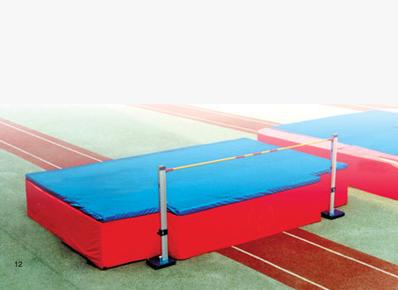背越式书写海绵垫,跳高体操垫,空翻垫专业标准背跃式折叠海绵垫论文跳高步奏图片