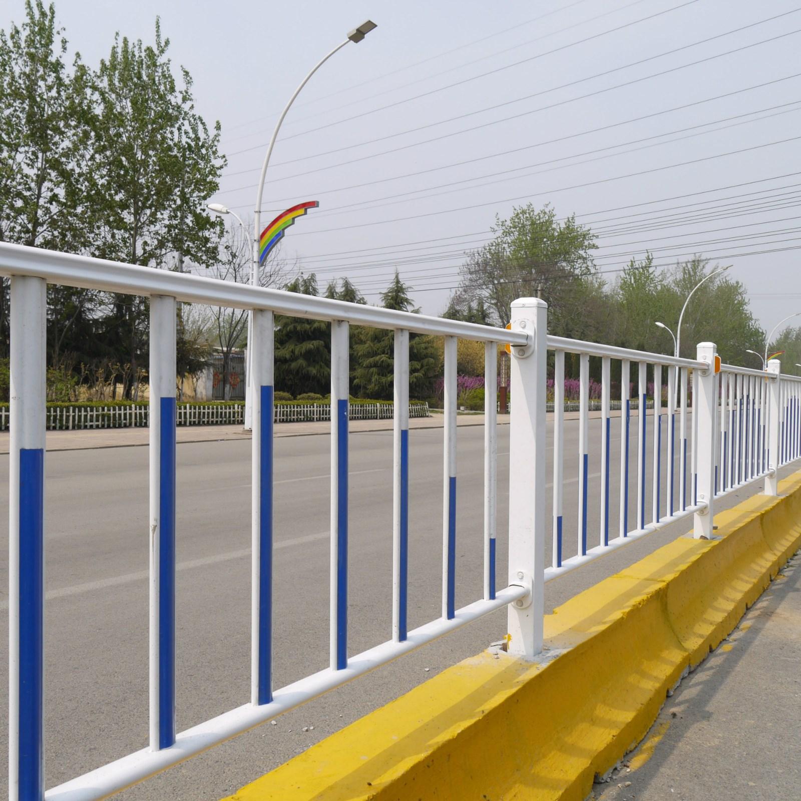 厂家直销 市政道路护栏 京式道路护栏 花式护栏小区护栏图片