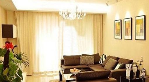 客厅窗帘与沙发搭配篇:给人一种和谐美