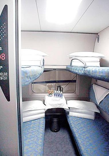 硬卧和软卧图片_火车硬卧与软卧的区别?- _汇潮装饰网