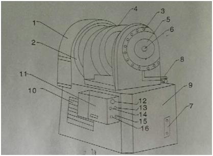 小导管尖头机结构图