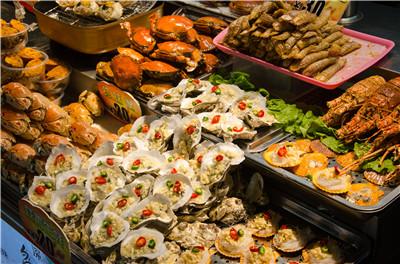 厦门中山路美食美食-烤生蚝的爱琴海特色图片