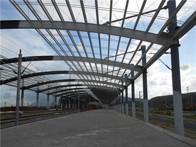 钢结构雨棚计算_钢结构夹胶玻璃雨棚 雨棚