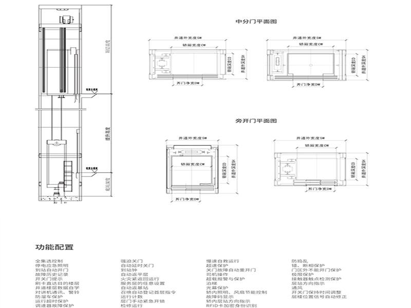 东南钢结构一体式外挂豌豆电梯