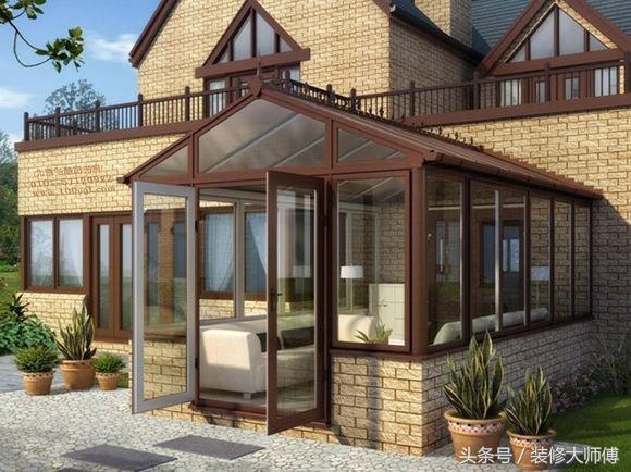贝科利尔温泉设计阳光房铝木复合阳光房从化度假别墅高端13922114538图片