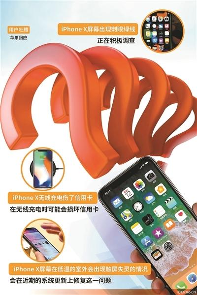 iPhone X故障问题汇总 最新故障iPhone X屏幕在冬天会失灵