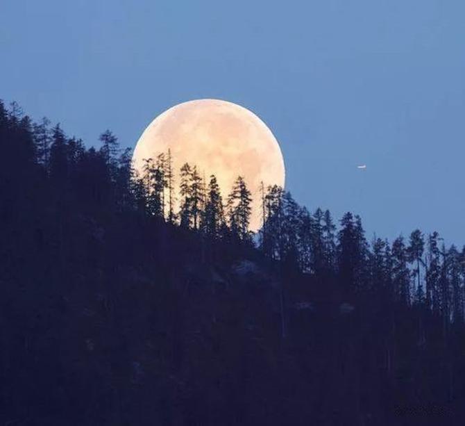 超级月亮现身夜空 超级月亮下一次会在什么时候出现