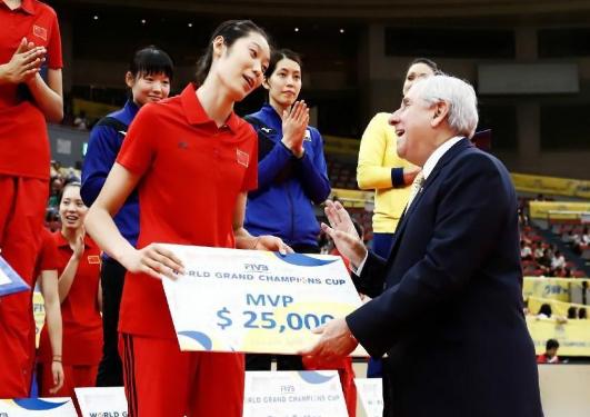 朱婷一年获得五个冠军和四个MVP.png