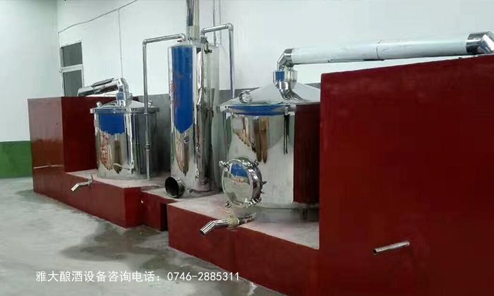 雅大酒业固态酿酒设备价格