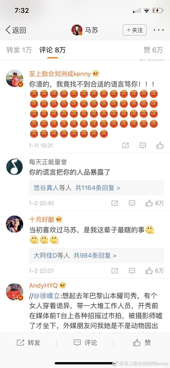 马苏现身海淀法院 刘洲成反击马苏