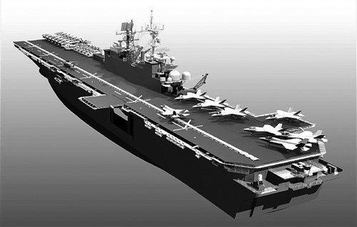美黄蜂战舰抵日本 黄蜂战舰长什么样?