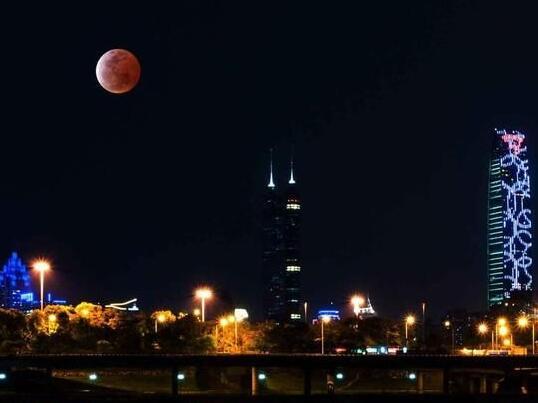 """月全食""""红月亮""""奇观将于1月31日震撼登场"""