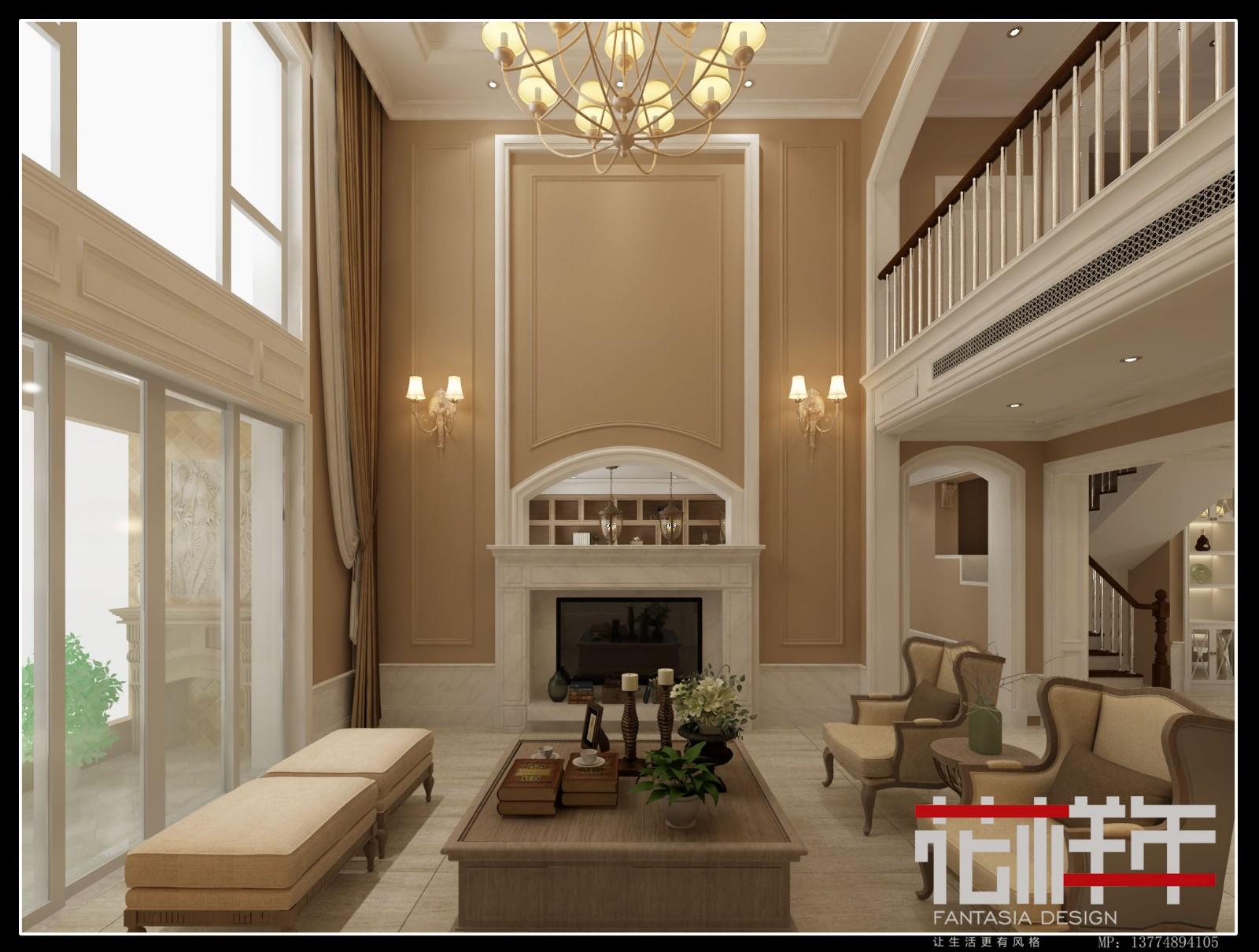 廈門新景緣美式豪宅|住宅-泉州市花樣年設計有限責任公司