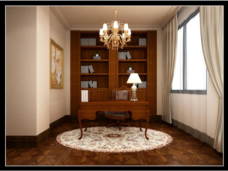 美式休閑風格|住宅-泉州市花樣年設計有限責任公司