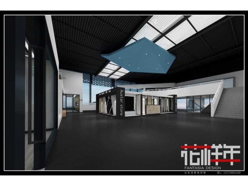 南安水頭石材辦公展廳|商業-泉州市花樣年設計有限責任公司