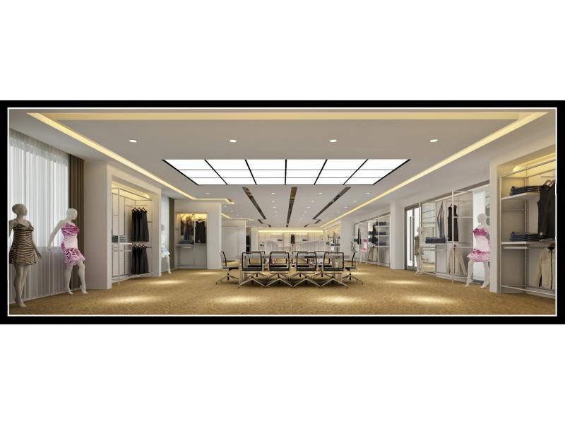 晉江英林服裝企業展廳|商業-泉州市花樣年設計有限責任公司