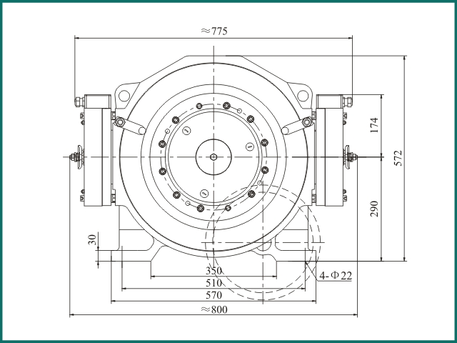 互生 阿里 Elevator parts , Elevator Traction Machine GTW9.....jpg
