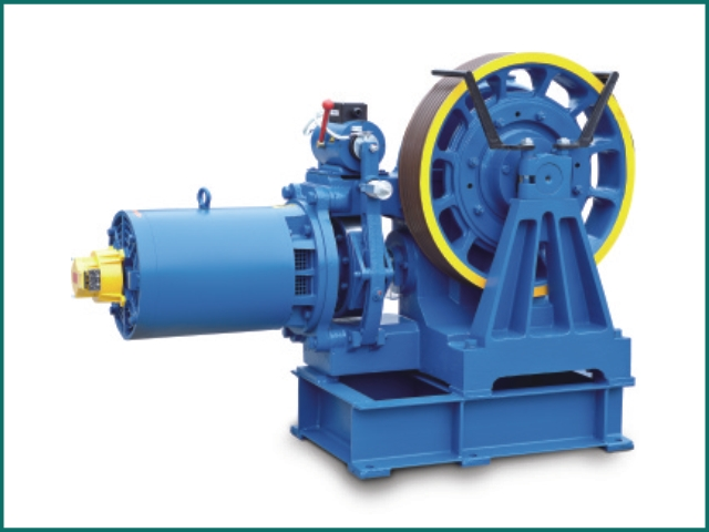 互生网站产 Elevator parts , Elevator Traction Machine YJ240B.jpg