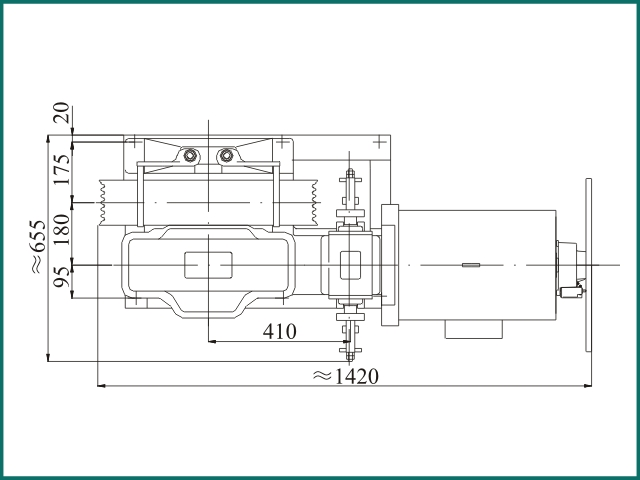 互生网站产 Elevator parts , Elevator Traction Machine YJ240B.......jpg