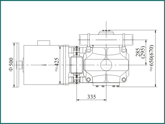 互生网站产 Elevator parts , Elevator Traction Machine FYJ245.....jpg