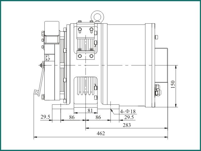 互生网站产 Elevator parts , Home Elevator Traction Machine VM450...jpg