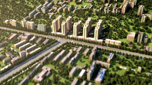 安徽柏星集团房产动画|地产建筑应用-徐州艺源动画制作有限公司