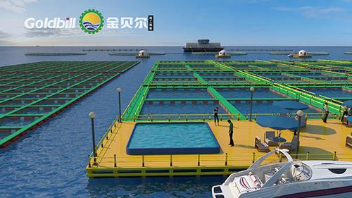 海上水养殖环境工程动画合作案例福建金贝尔|工业应用-徐州艺源动画制作有限公司