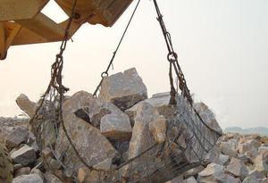鋼絲繩吊裝網|格賓石籠網系列-廣西卓歐金屬制品有限公司