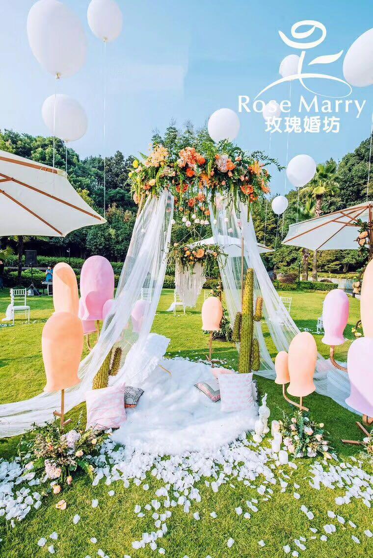 trace of love|婚礼布置-广州玫瑰婚坊婚礼策划图片