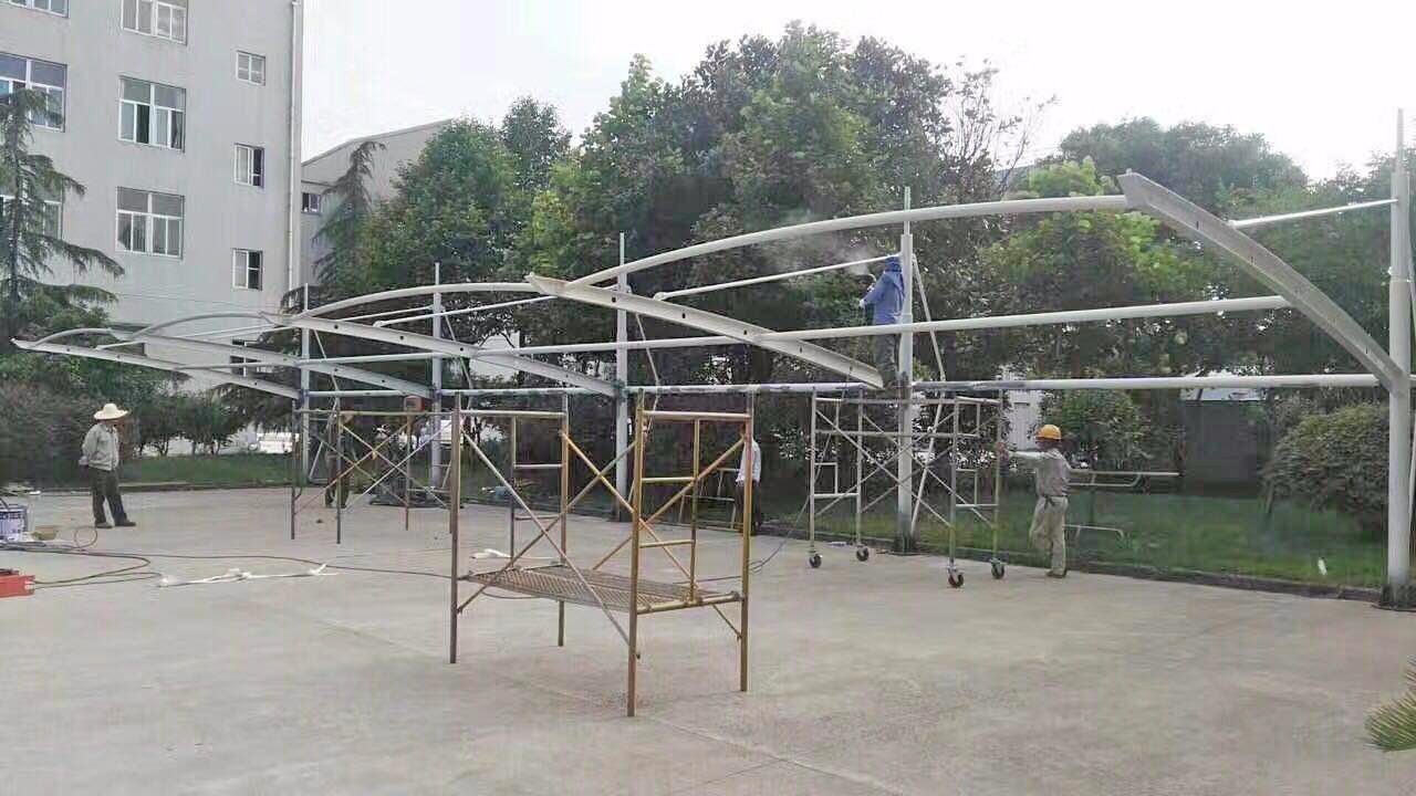 溧阳强鑫纺织膜结构汽车棚|新闻动态-常州红叶膜结构工程有限公司