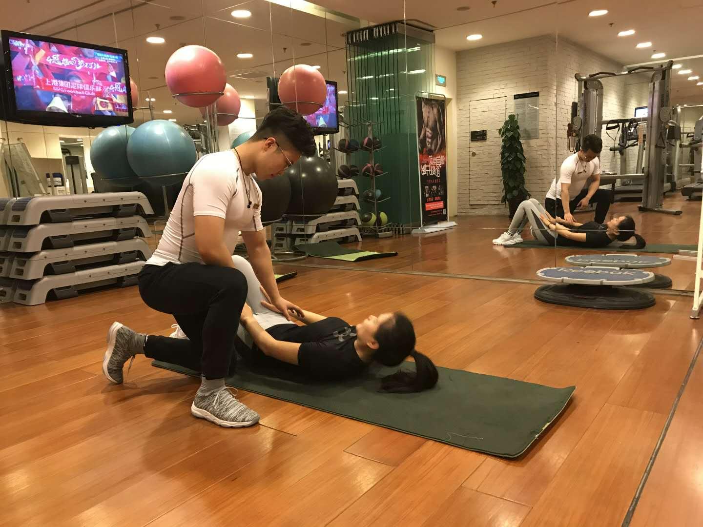 健身中的会员 健身风采-西安者体育文化传播有限公司