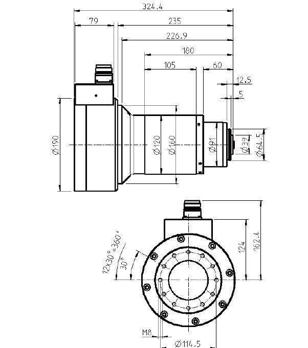 德国Jager大锥度主轴S120-H630.26 S8W2|德国Jager电主轴系列-咸阳恒旭商贸有限公司