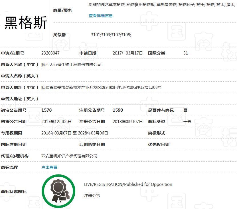 热烈祝贺黑格斯和黑格斯曼地亚的注册商标通过授权|企业新闻-新疆11选5走势图