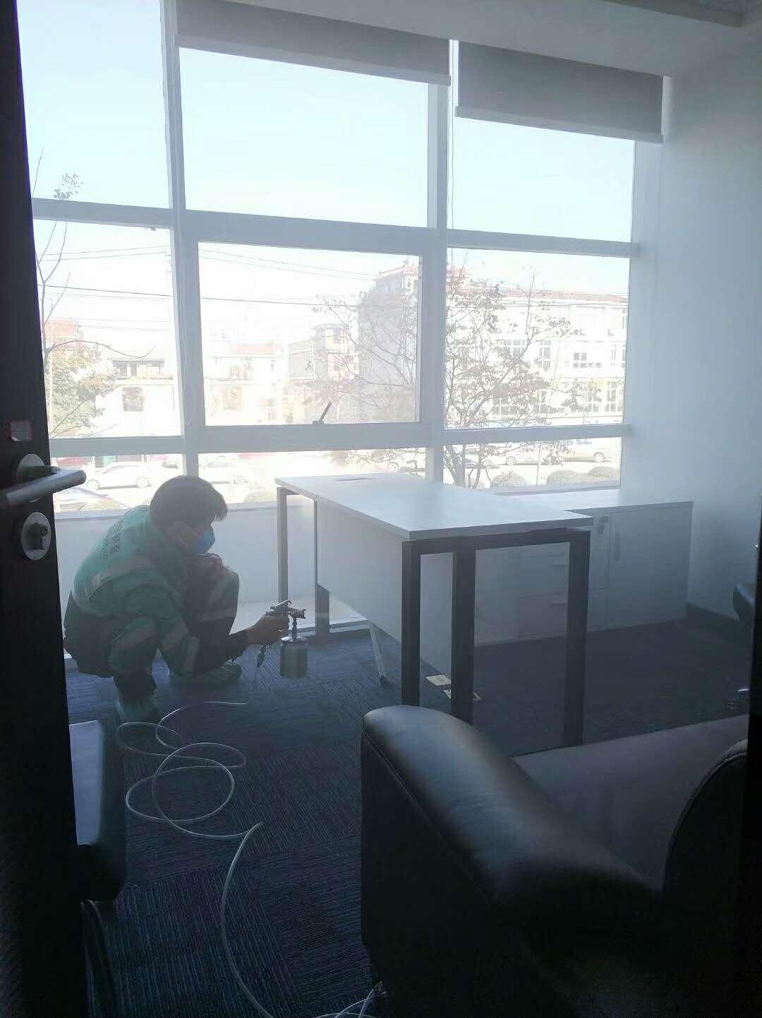 武汉小小叶子环保为青山派出所室内空气污染治理|新闻动态-武汉小小叶子环保科技有限公司
