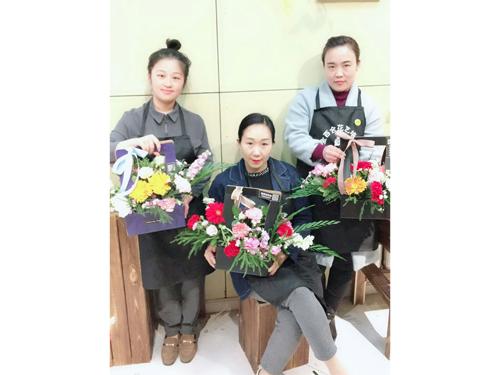 邯郸插花培训|邯郸插花培训-金百合鲜花店