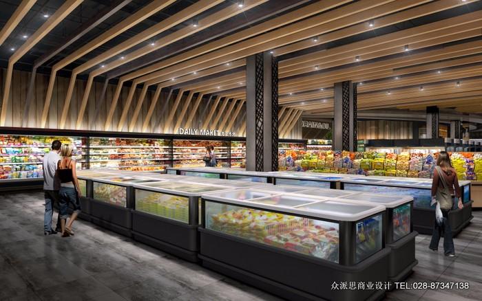 成都超市设计