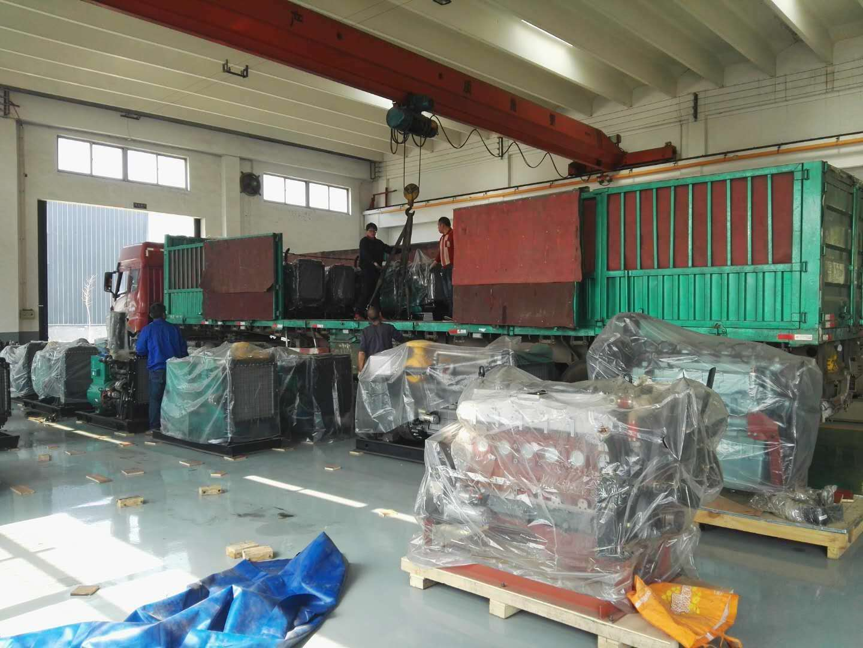 <潍坊奔马动力>一车柴油发电机组设备发往湖南,可喜可贺,质量,售后完善,客户信赖|公司新闻-潍坊奔马动力设备有限公司