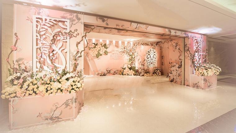 #RM新中式主题婚礼《一抹·珊瑚粉  Coral Pink 》|婚礼布置-奈斯婚礼企划