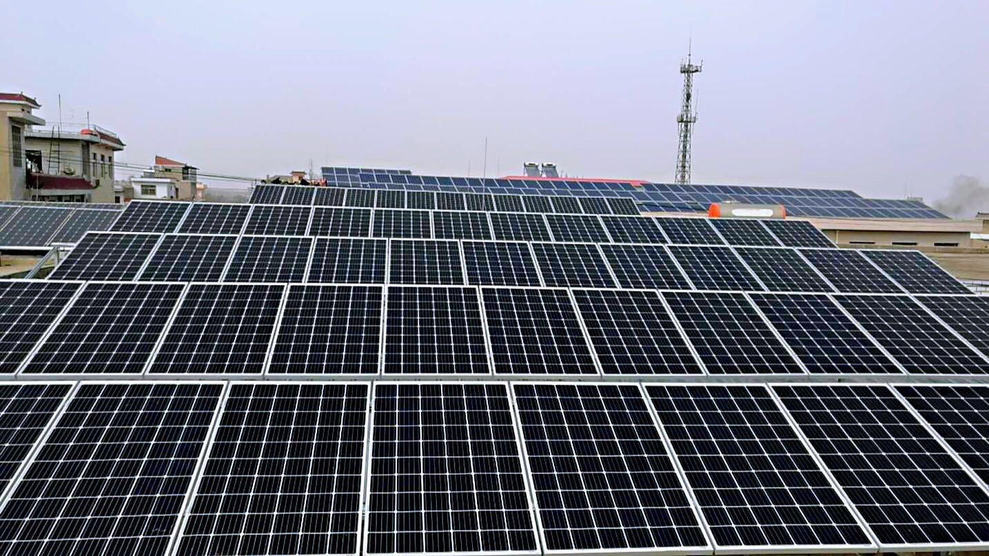 恭喜潼关张成正37.9kw光伏发电系统成功并网!|成功案例-陕西峰海能源科技有限公司