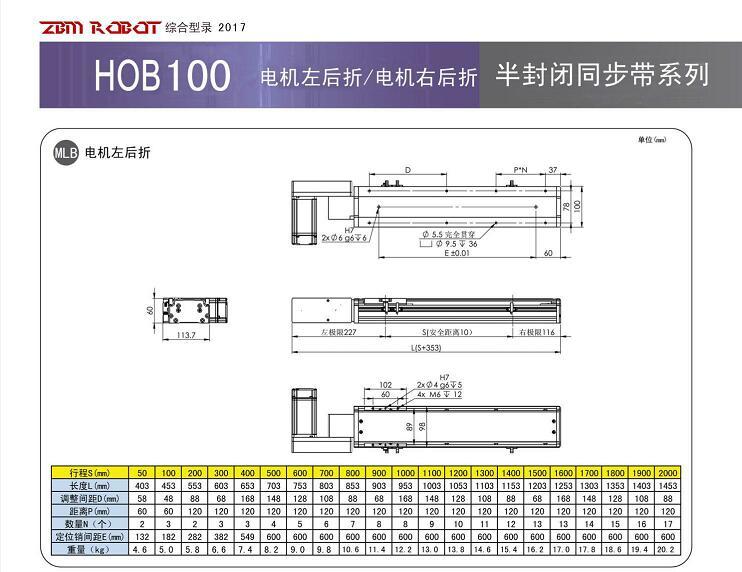 HOB100B-CM
