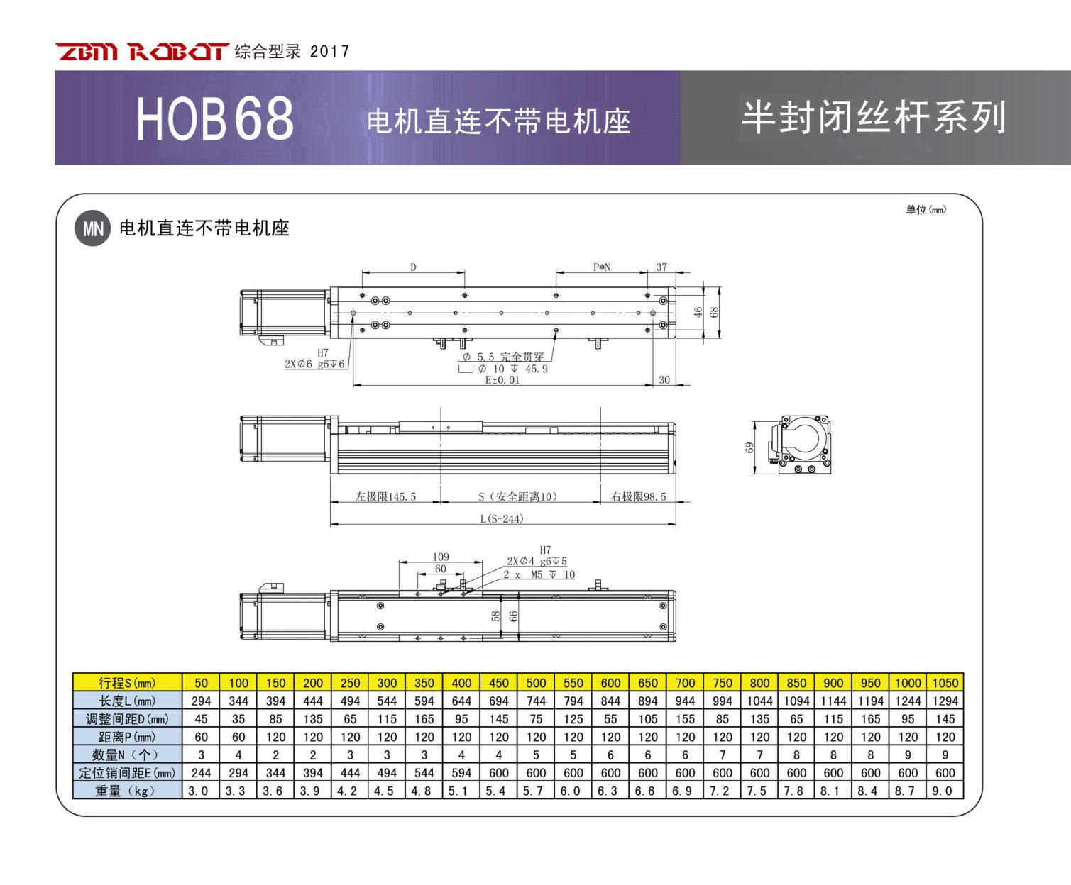 HOB68S-CM