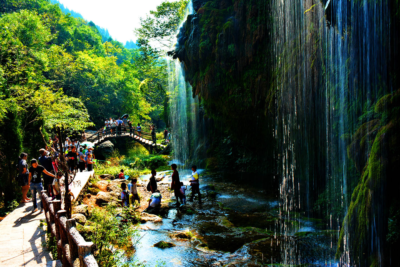 禅水引得游客来  坐禅谷-南阳丹江坐禅谷