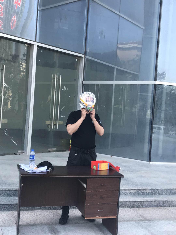 2018年我司驻瑞华高科保安消防培训|行业资讯-美高梅游戏官网娱乐