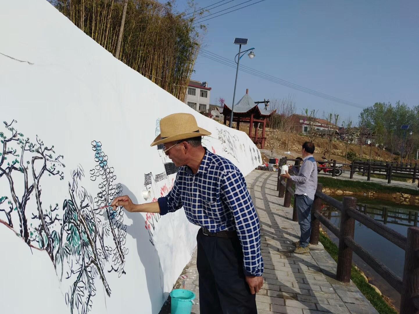 欧宝体育入口彩绘壁画 景观雕塑-西安浪淘沙文化传播有限公司