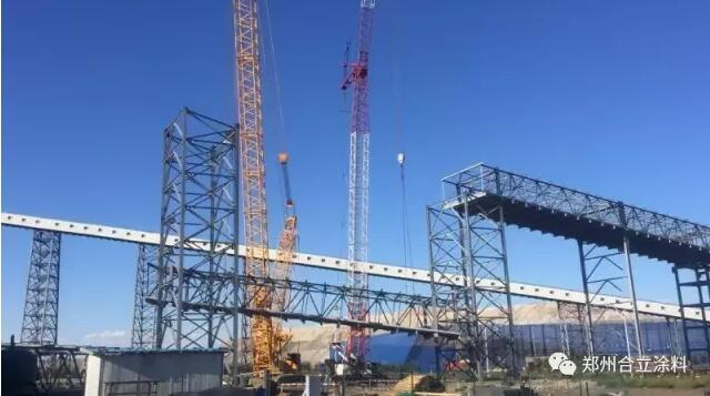 新疆天池能源南露天煤礦二期工程項目|工程案例-鄭州久新材料科技有限公司