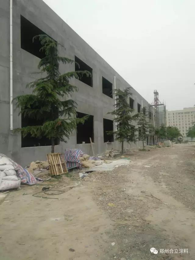 693厂研发生产基地二期工程生产协作楼及辅助厂房内墙防腐项目施工完成|工程案例-郑州久新材料科技有限公司
