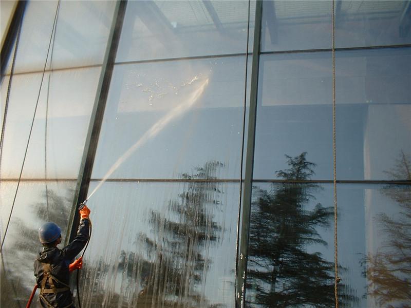 玻璃幕墙清洗|外墙清洗-西安高腾清洗有限责任公司